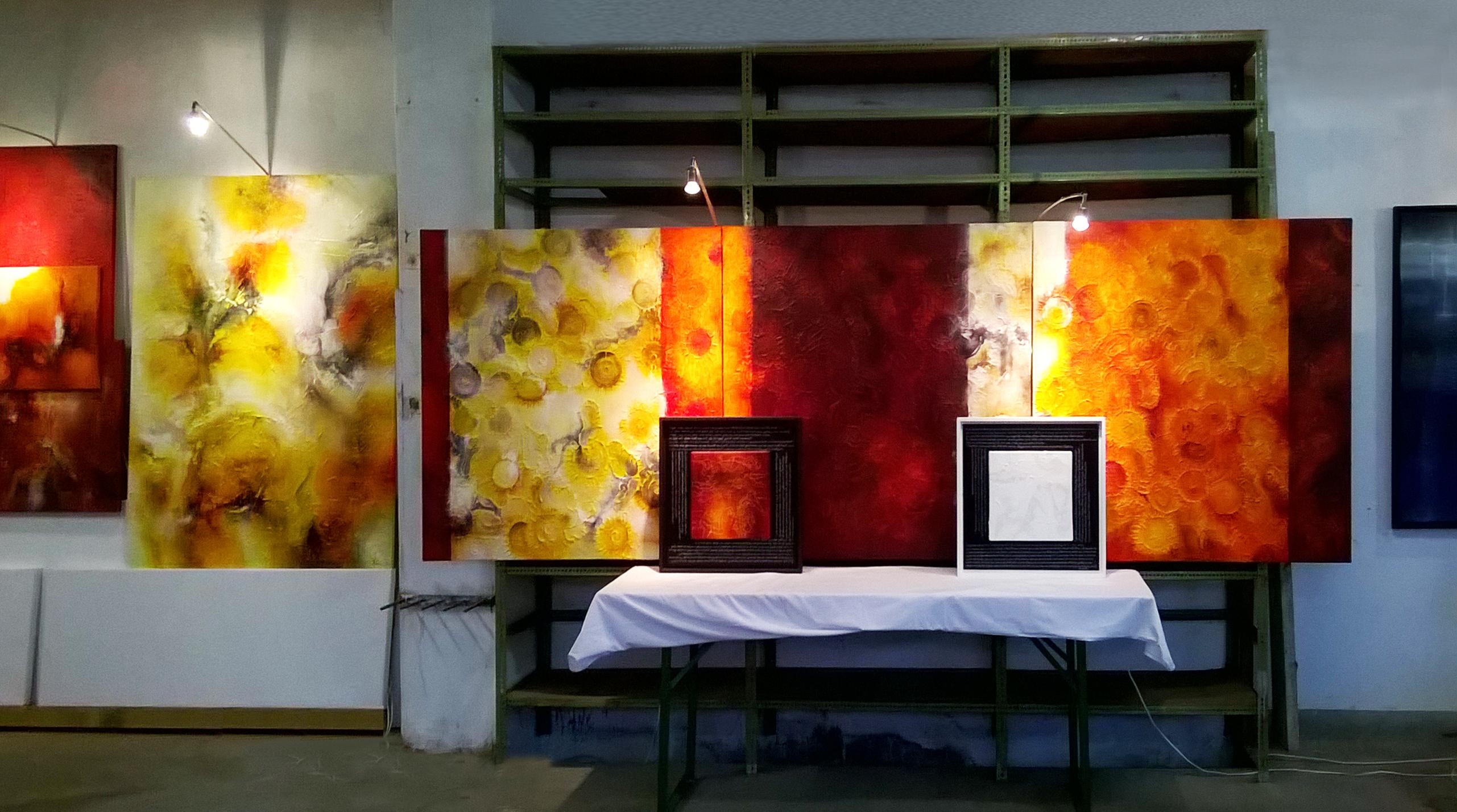 Bild Installation Atelier
